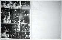 Andy Warhol Silver Car Crash. Double Disaster 1963