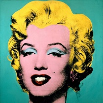 Andy Warhol Turquoise Marilyn 1964