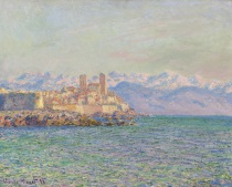 Claude Monet - Antibes, le fort 1888