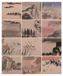 Painting Album of Landscapes, by Qi Baishi 1931