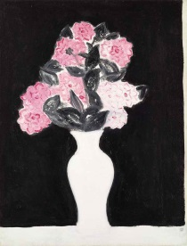 Sanyu (Chang Yu) - Flowers in a white vase 1930